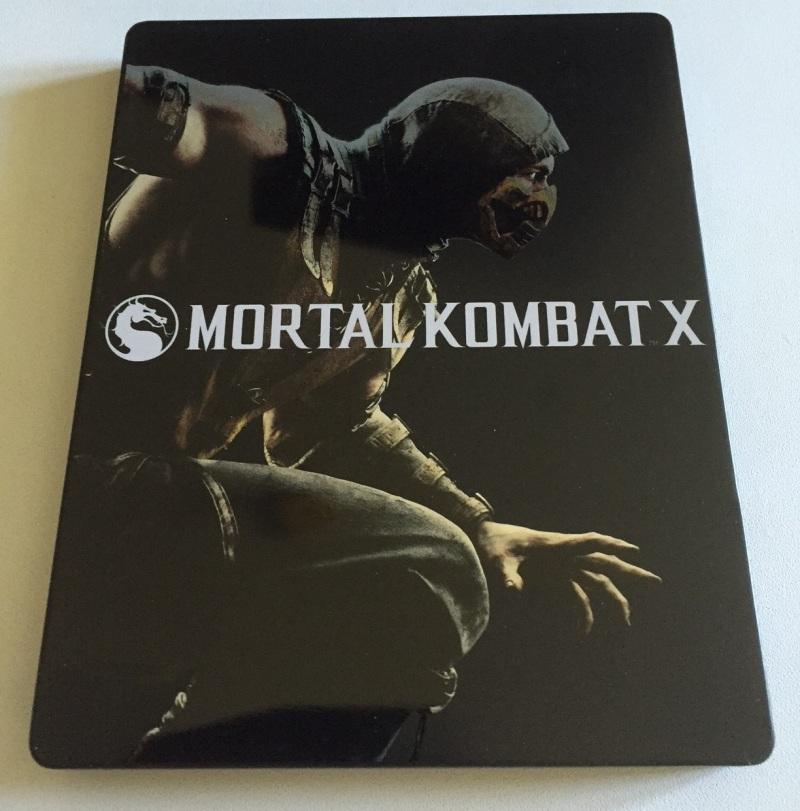 08 - Mortal Kombat X - Steelbook 1