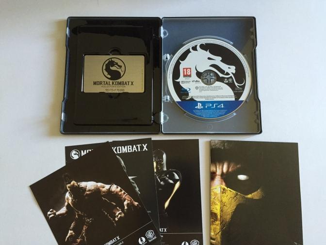 10 - Mortal Kombat X - Steelbook 3
