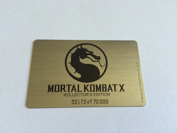 12 - Mortal Kombat X - Carte