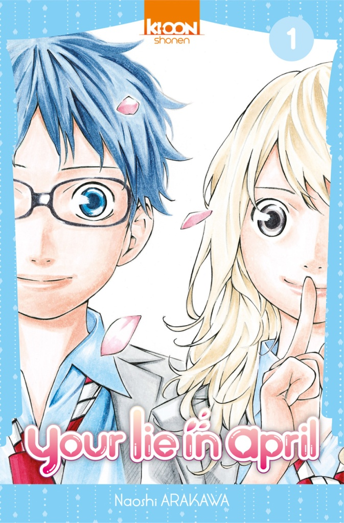 Your lie in april - Tome 01
