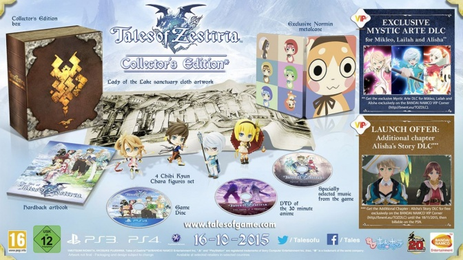 06 - OCT - Tales of Zestiria Edition Collector