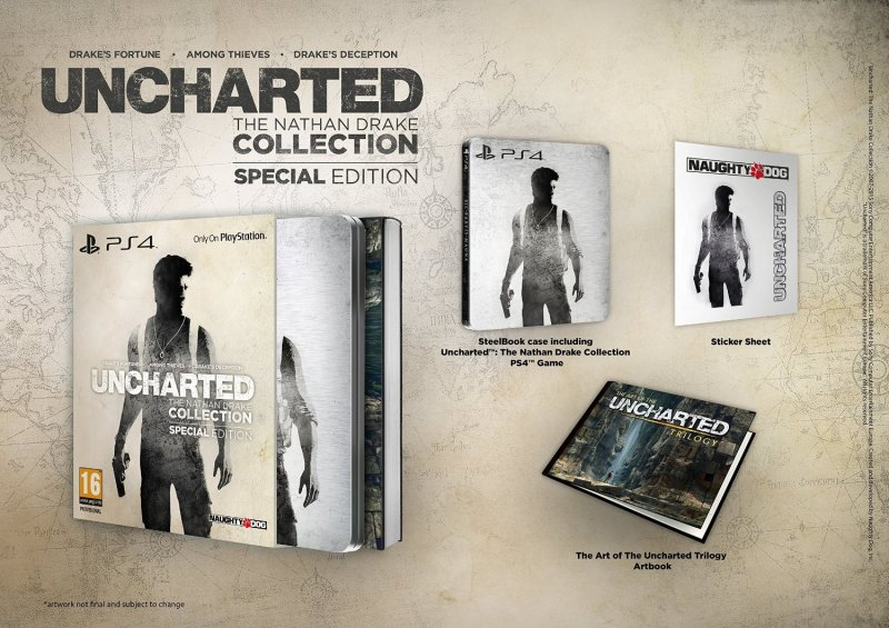 02 - Uncharted Trilogy Nathan Drake Collection