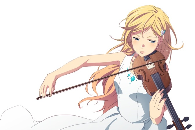 Your lie in april - Kaori