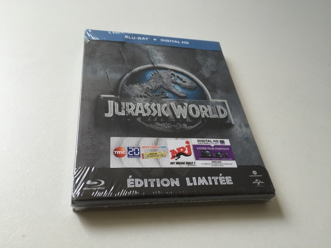 01 - Jurassic World steelbook