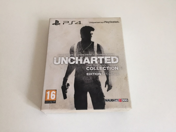 01 - Uncharted Nathan Drake Collection PS4