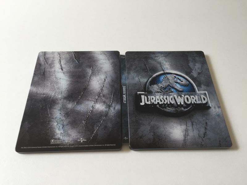 06 - Jurassic World steelbook