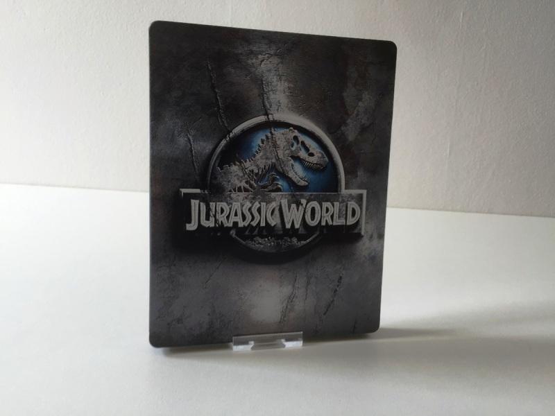 10 - Jurassic World steelbook