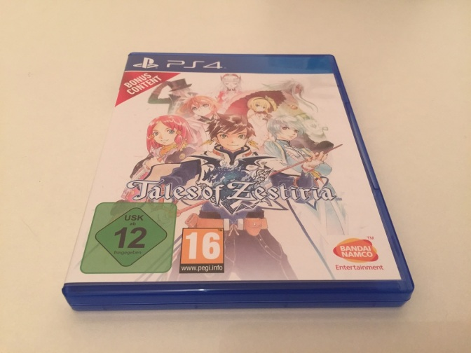 16 - Tales of Zestiria Edition Collector PS4