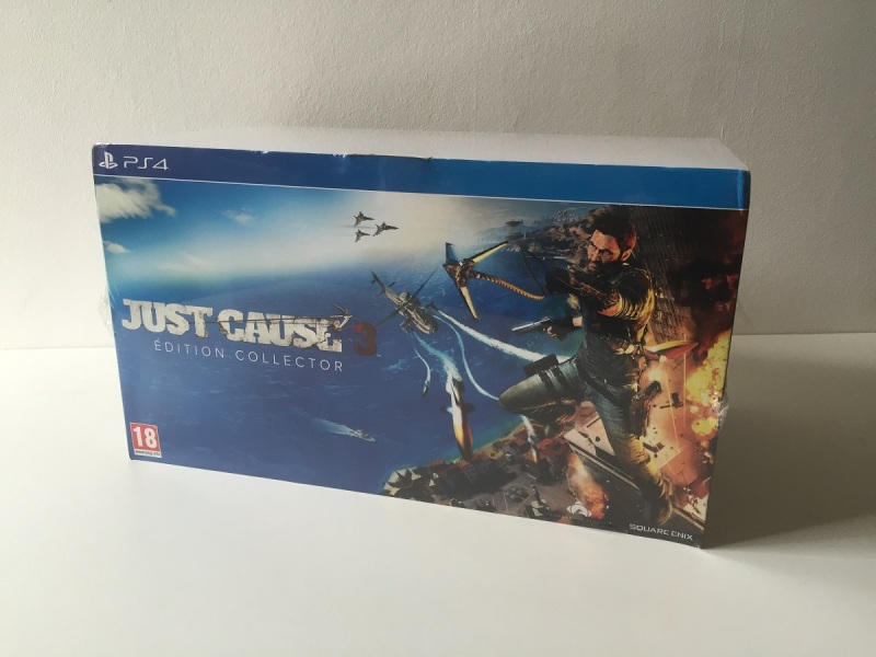 01 - Just Cause 3 - Edition Collector