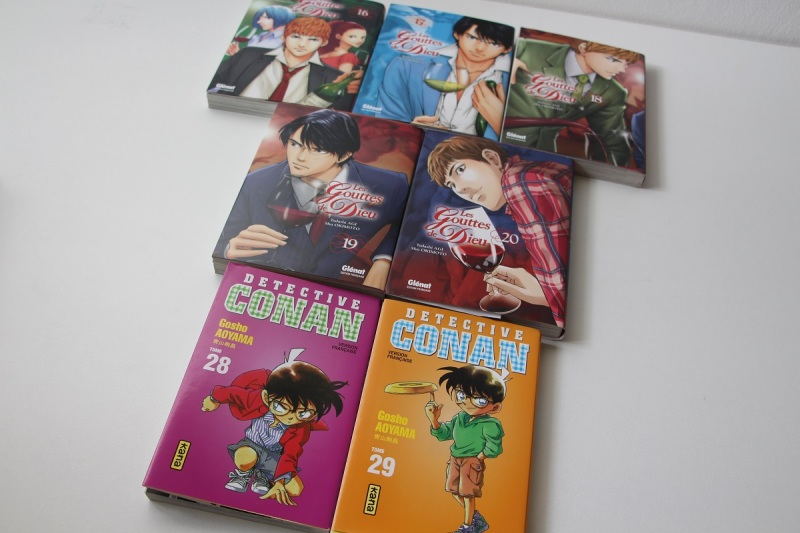 08 - Mangas Gouttes de Dieu Detective Conan