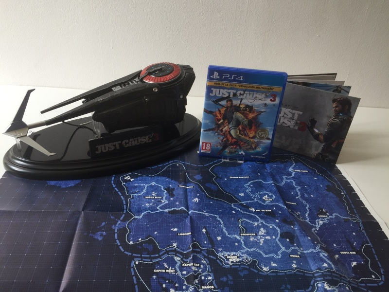 20 - Just Cause 3 - Edition Collector