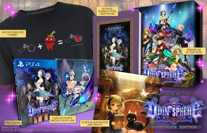 Odin Sphere - Storybook Edition - 01