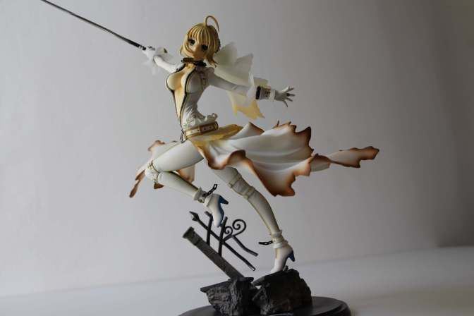 Saber Bride Fate Extra - Figure-16