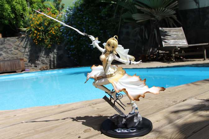 Saber Bride Fate Extra - Figure-21