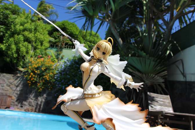 Saber Bride Fate Extra - Figure-24