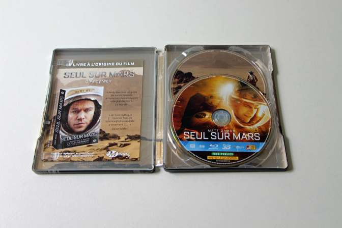 Seul sur Mars - Bluray Steelbook-08