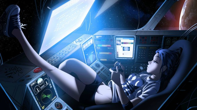 ANIME GIRL - Plays in space