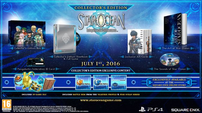 JUILLET-1 - Star Ocean - Collector's Edition