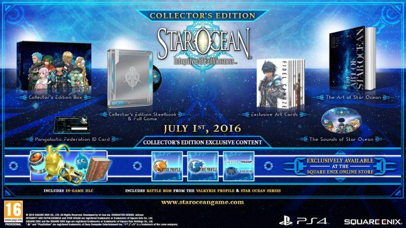 JUILLET-1 - Star Ocean - Collector's Edition