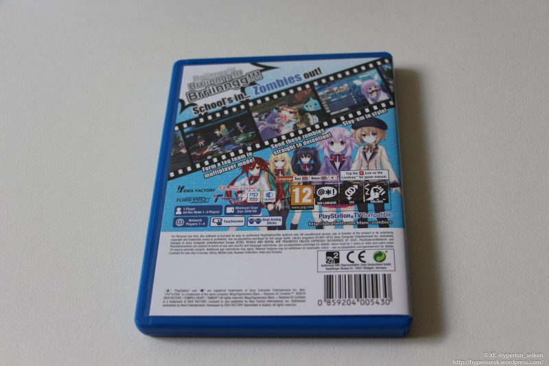 MegaTagmension Blanc Neptunia VS Zombies - PSV-6