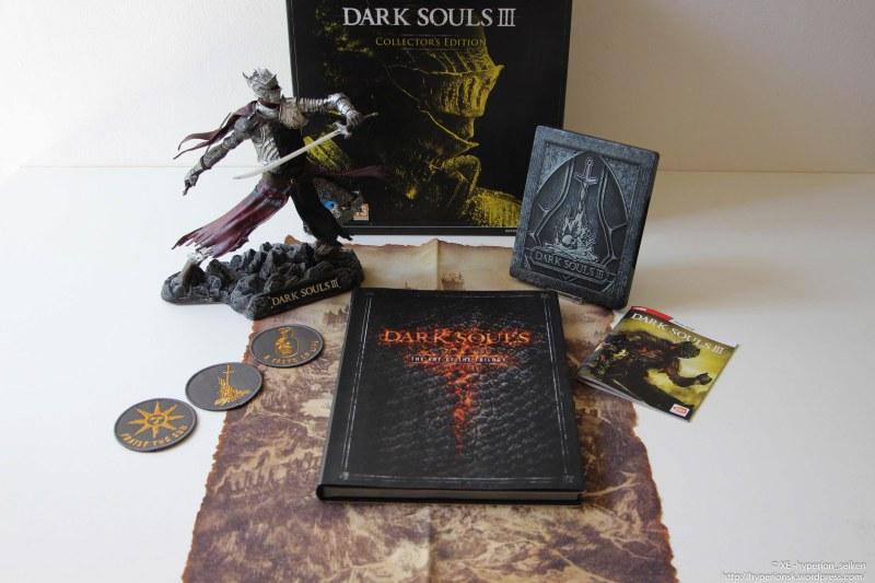 12 - Dark Souls 3 - Edition Collector - PS4 - 2