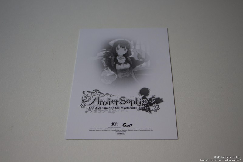 Atelier Sophie - Limited Edition - PS4-29