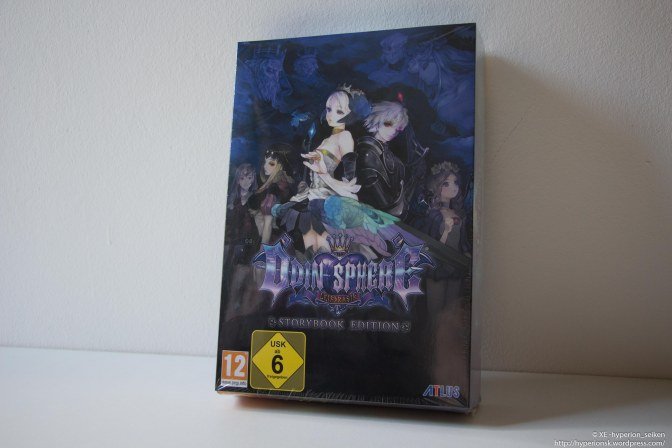 Odin Sphere Leifthrasir PS4 Storybook Edition