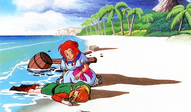 01 - Zelda Link s Awakening - Artwork
