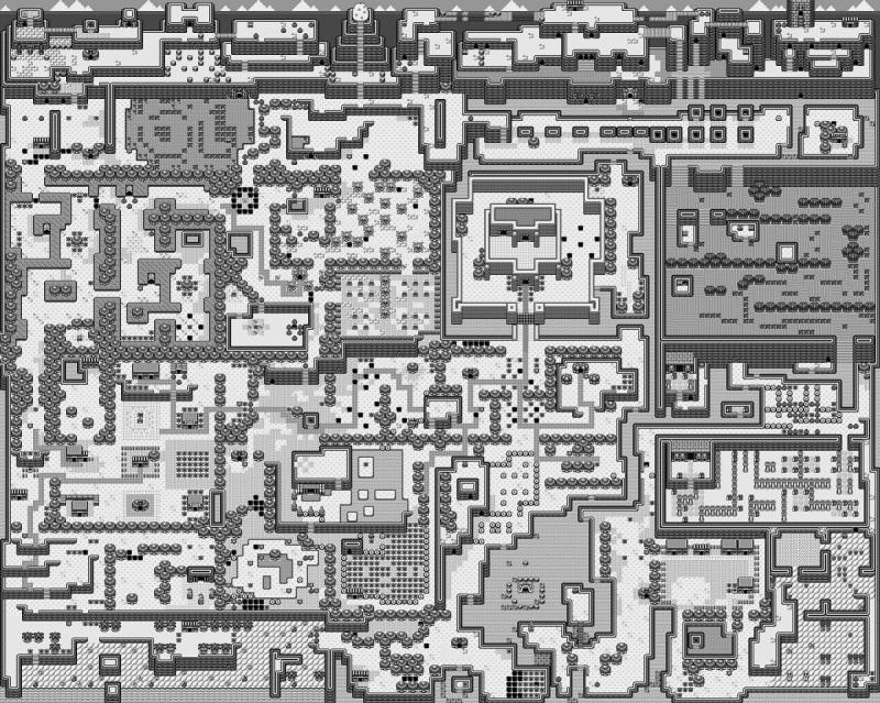 01 - Zelda Link s Awakening - World map