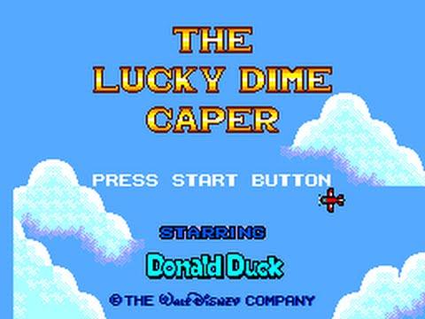 03 - Donald Duck Lucky Dime Caper 01