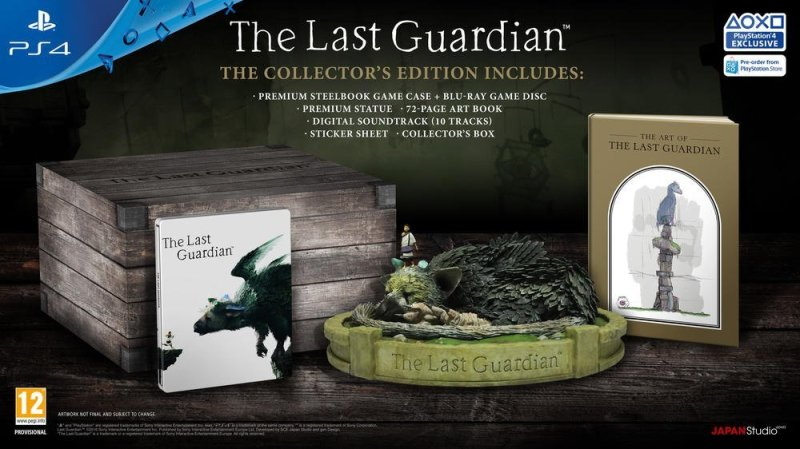 10-26-2016 - The Last Guardian - Edition Collector