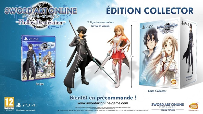 11-30-2016 - Sword Art Online Hollow Realization Edition Collector
